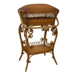 Victorian Sewing Basket