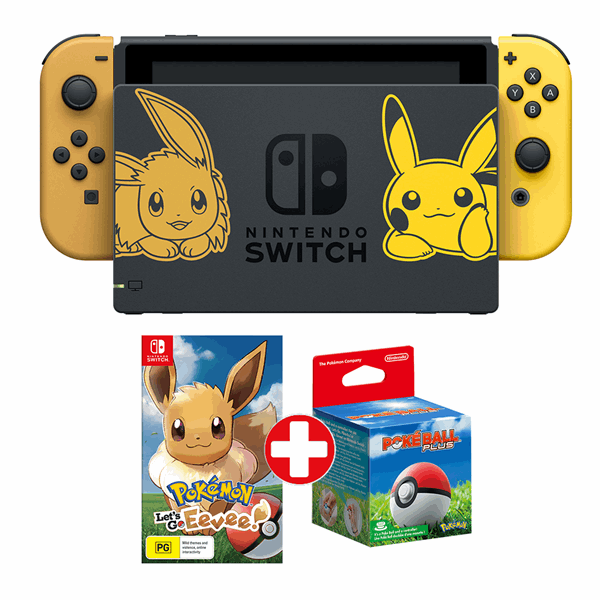 Nintendo Switch Pokemon Let S Go Eevee Limited Edition Console