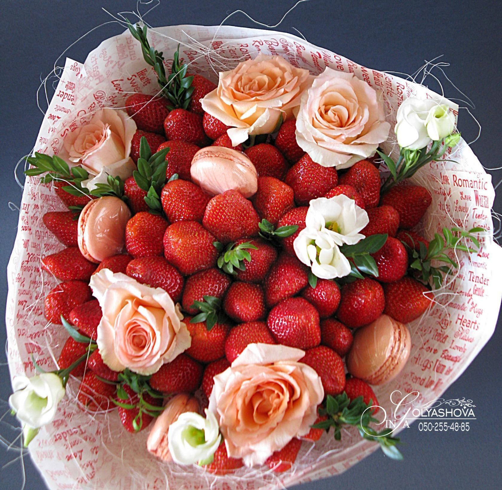 Wow Buket Pinterest Edible Bouquets Strawberry