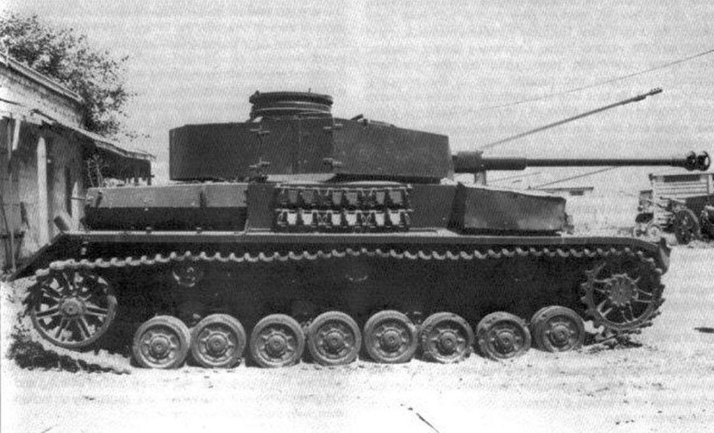 Czechoslovakian People's Army T-40/75 tank (Ex-German Panzer