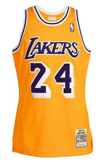 new product b251c 46e9d Mitchell & Ness 'Los Angeles Lakers 2007-2008 - Kobe Bryant ...