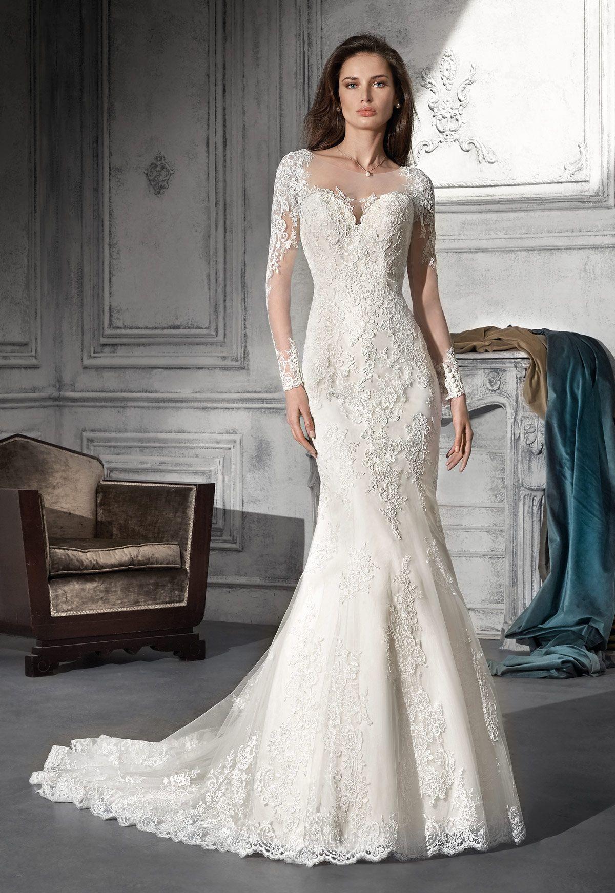 Tienda de vestidos de novia en Madrid de Demetrios colección 2018 ...