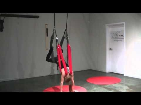 in this video karol helms shows you how to do a knee tuck