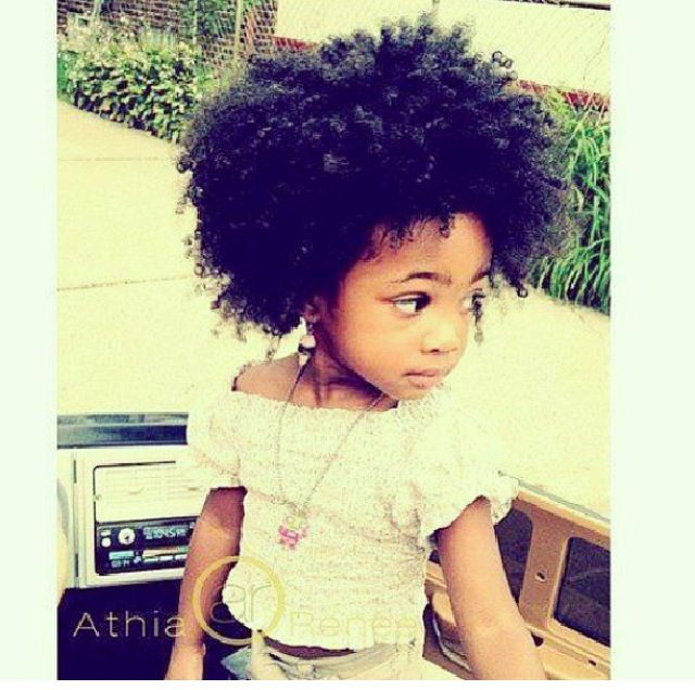 Natural Hair Baby With Images Baby Hairstyles Natural