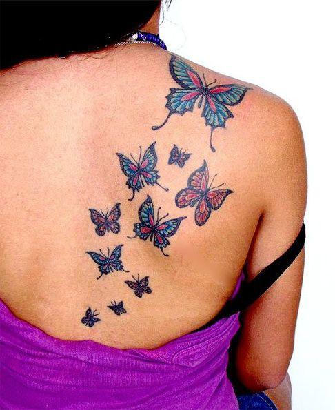 K Butterfly Tattoo Tribal Butterfly Tatto...