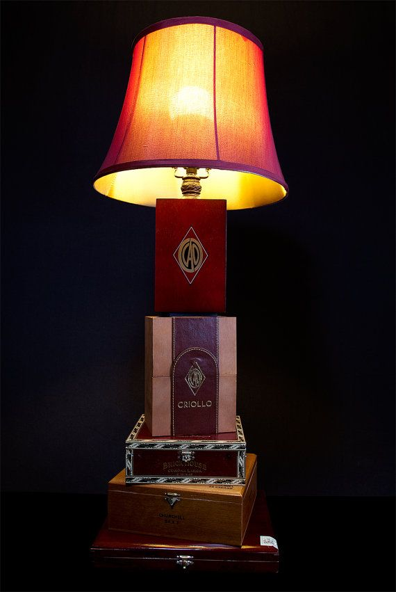 Superior Cigar Box Lamp By Ahtulsa On Etsy, $50.00