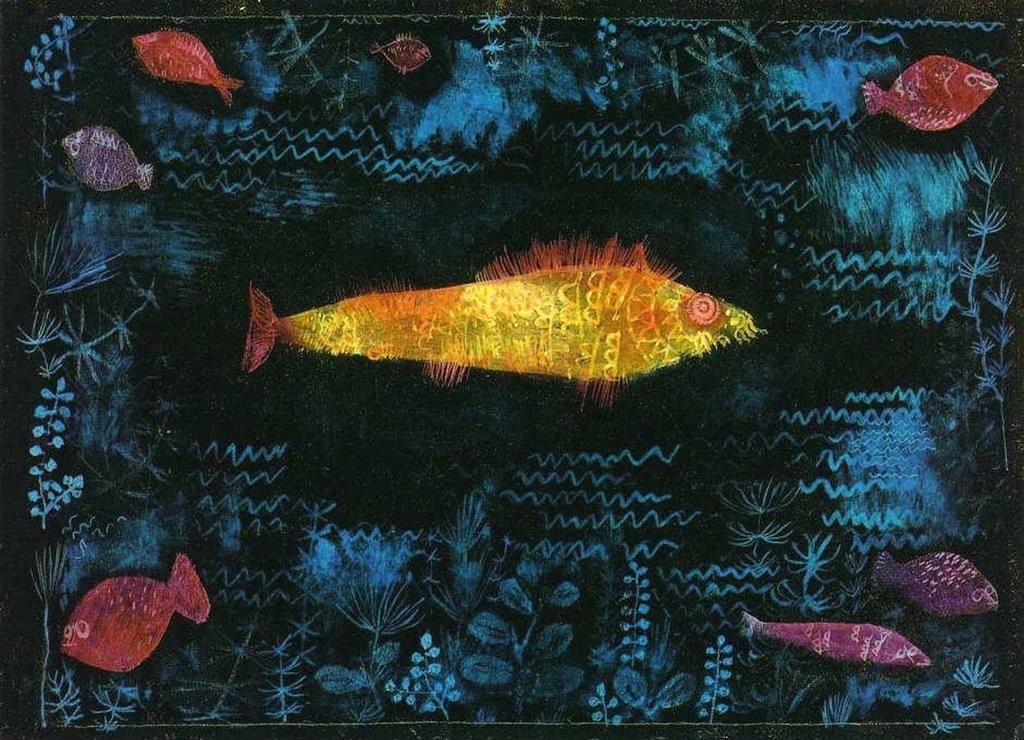 Il pesce d\'oro Paul Klee | illustration,collage ,mixed media ...