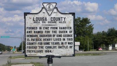 Louisa County Fluvanna County Historical Marker Historical