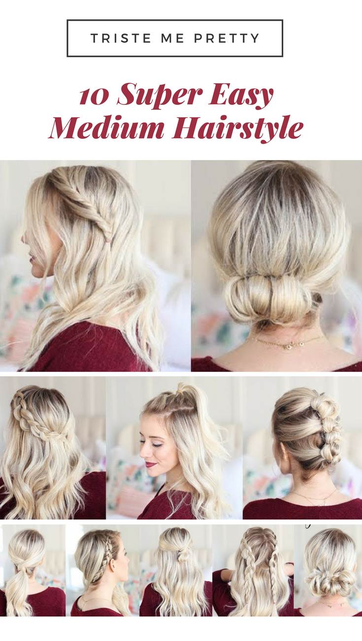 50 Effortless Diy Date Night Hairstyles For Different Hair Types Today We Dat Short Hair Styles Easy Hairstyles For Medium Length Hair Easy Night Hairstyles