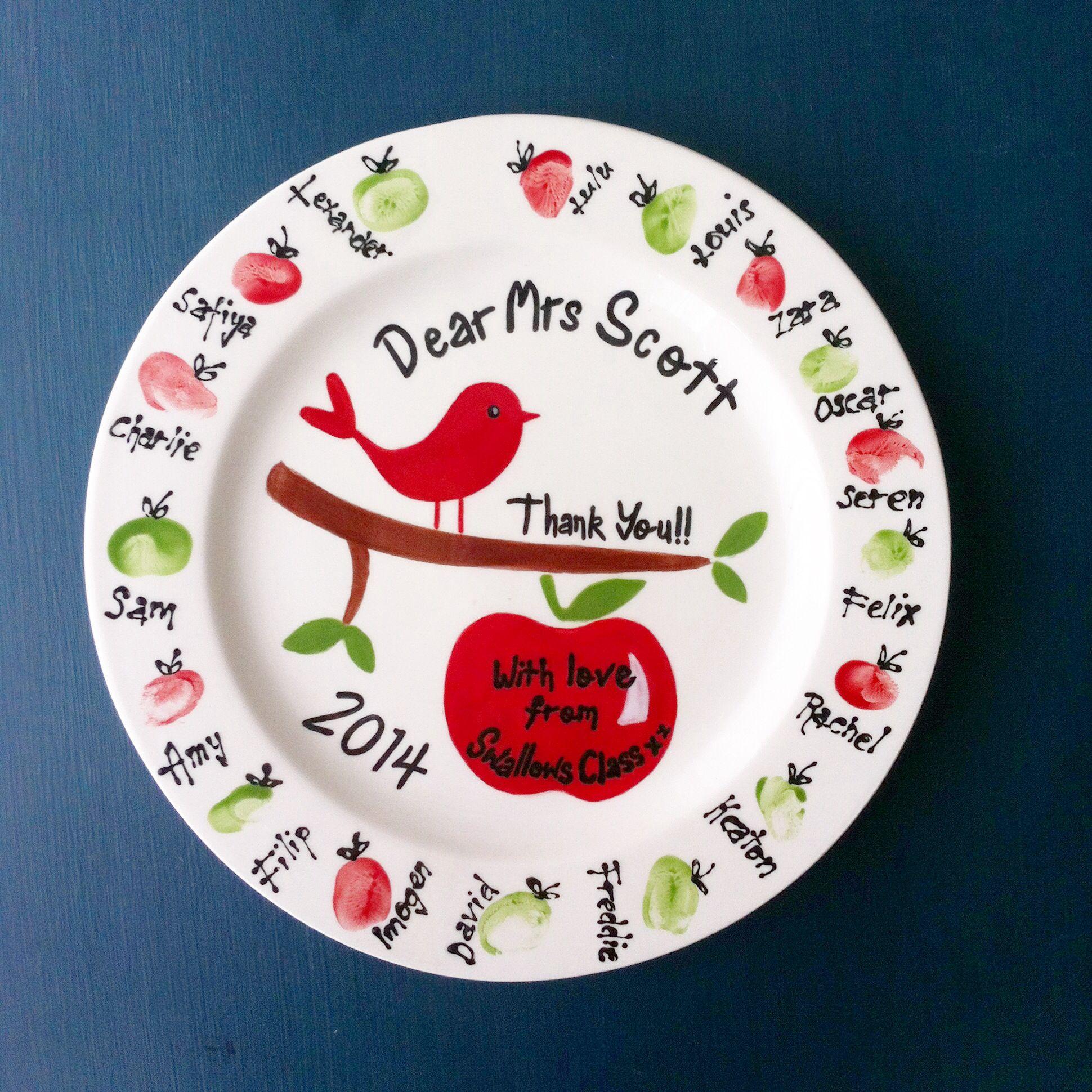 World/'s Best Teacher Personalized Teacher Plate Teacher Gift Personalized ceramic plate
