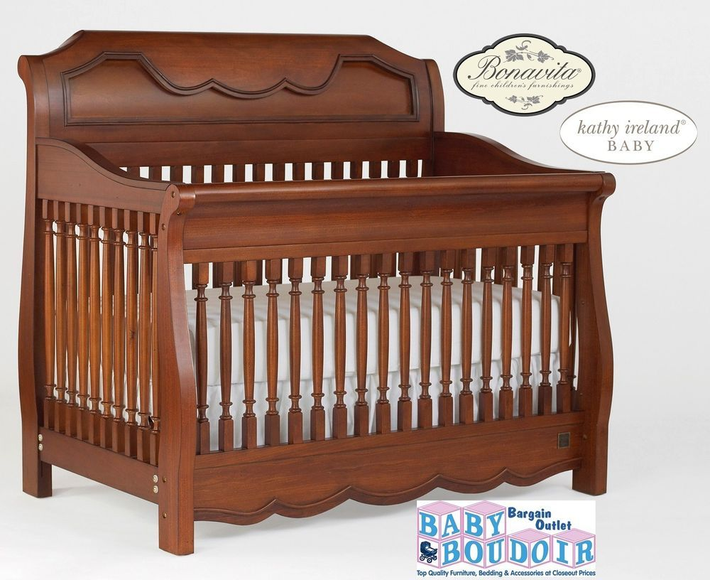 Baby cribs ireland - Kathy Ireland Princess Garden Sleigh Crib In Cherry Kathy Ireland Wish I Would Have Seent His When Reese Was A Baby