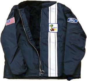 Cobra Jacket Ford New New Made In Usa Shelby Mustang Ebay Ford