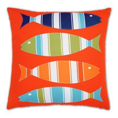 Lush Decor 40 Fishes Decorative Pillow 40T40 Products Simple Lush Decor Throw Pillows