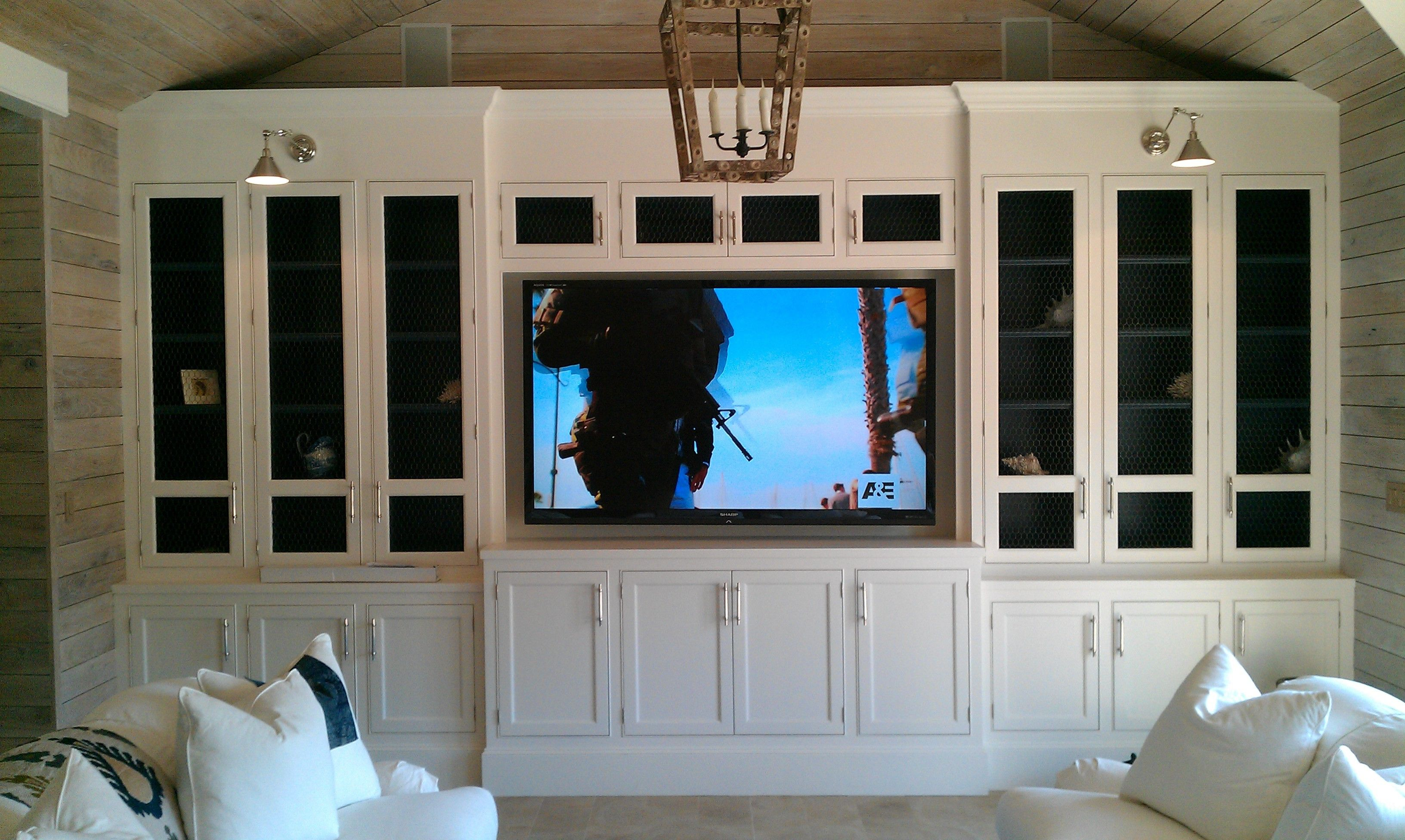 Image result for hamptons style built in wall unit
