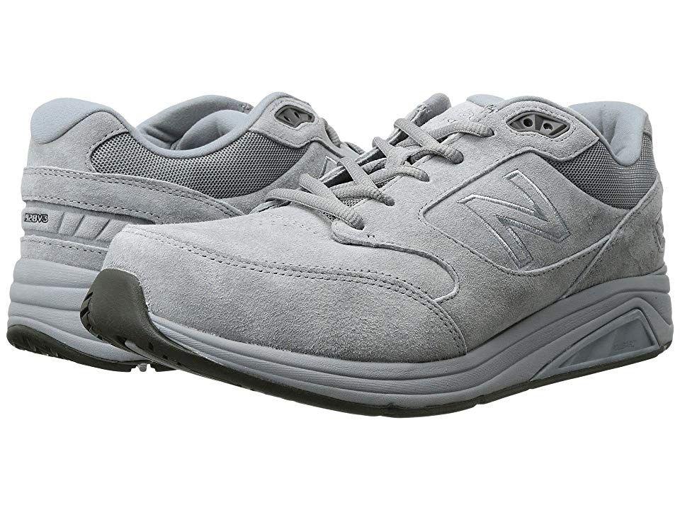 New Balance 928v3 Men's Walking Shoes Grey/White