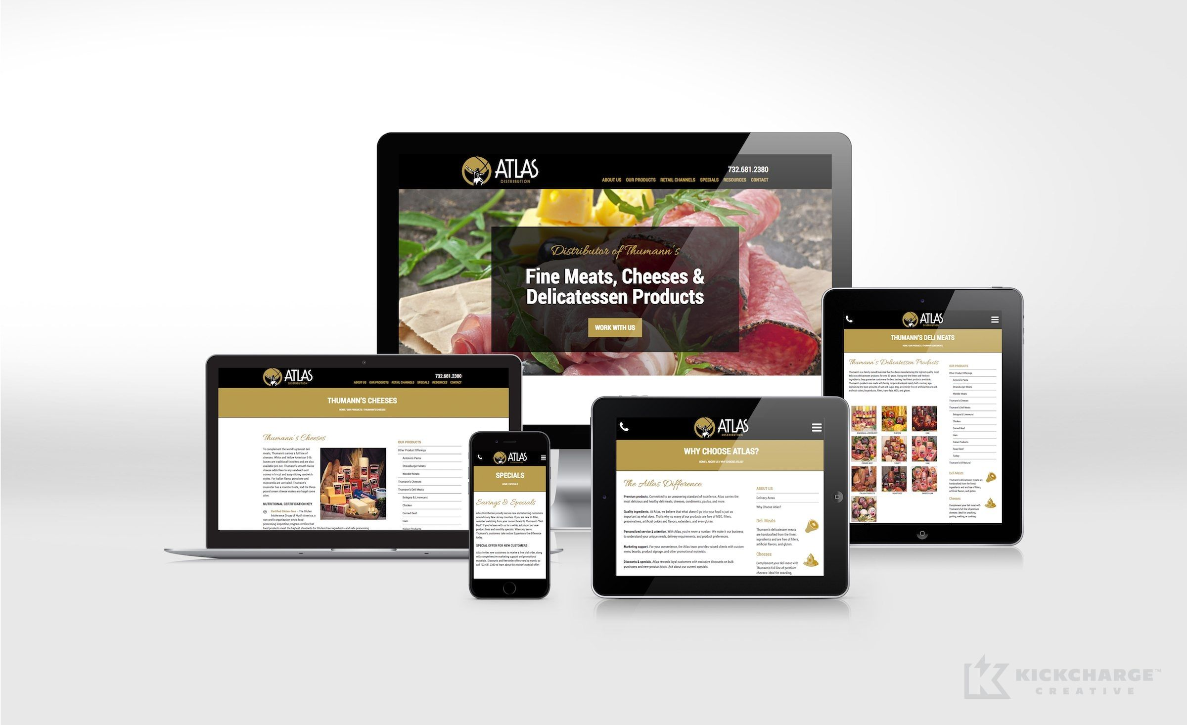Website Design And Development For Atlas Distribution Nj Advertising Agency Nj Ad Agency Nj Web Design Nj Logo Design Portfolio Web Design Atlas Digital