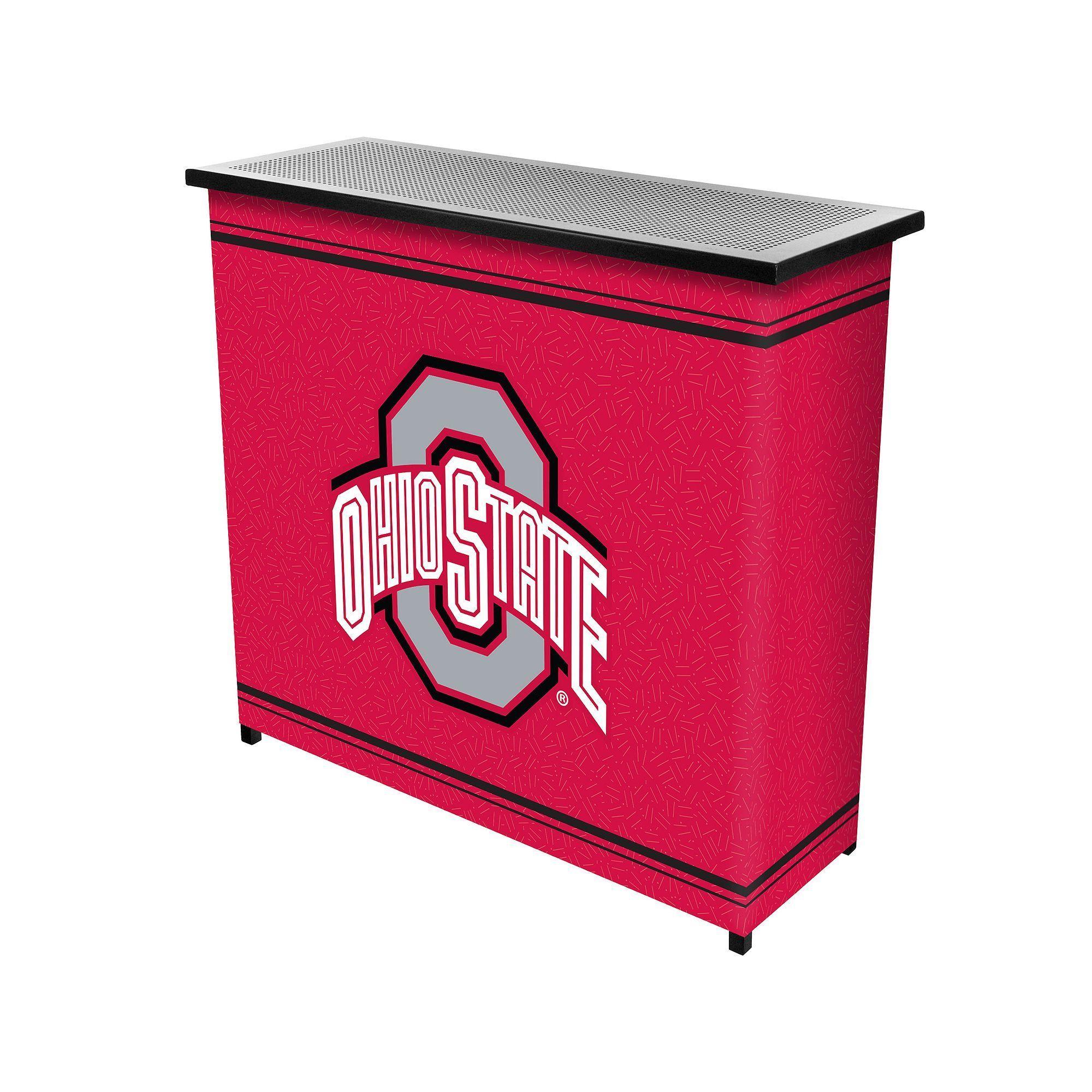 Ohio State Buckeyes 2Shelf Portable Bar with Case