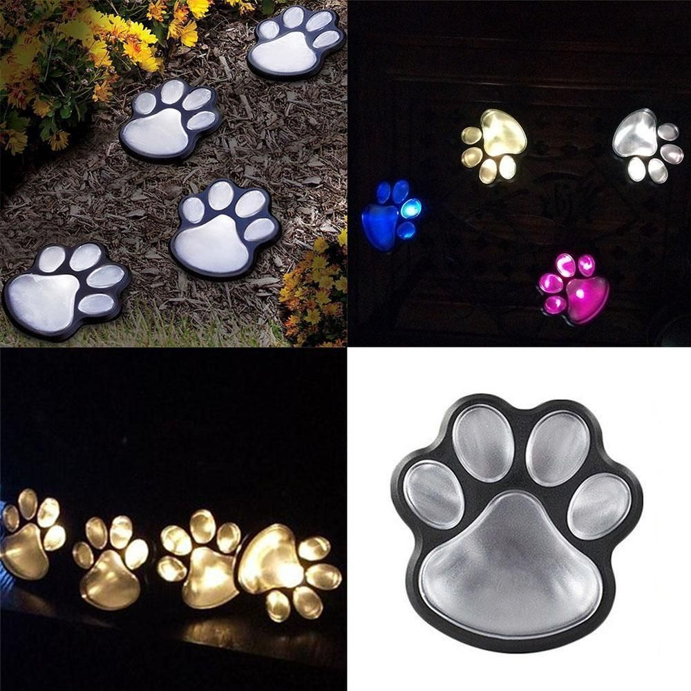 Animal Light Decor Solar Animal Light LED Landscape Path Outdoor Garden Cat