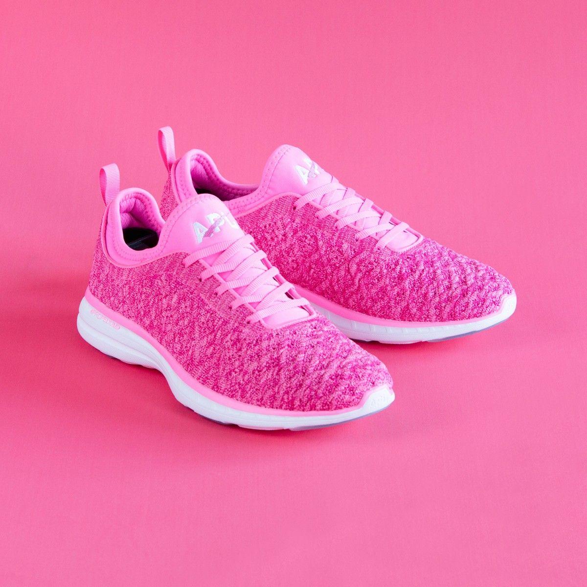 3dc6b9e780618 APL Women's Techloom Phantom Breast Cancer Awareness Shoe Pink/White ...