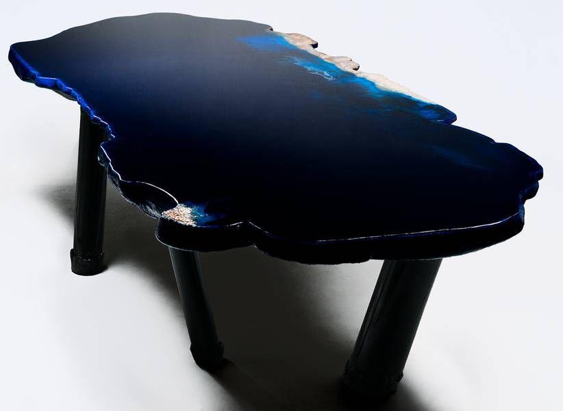 Tisch Design Gaetano Pesce See Tisch Assymetrische Form | Furniture |  Pinterest | Kunstharz, Dachgeschosse Und Furniture