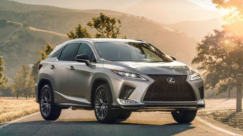 2020 Lexus Rx350 And Rx450h Updated With New Styling Improved Tech Lexus Rx 350 Lexus Suv Luxury Crossovers