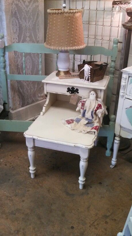 #vintage #bed #shabby