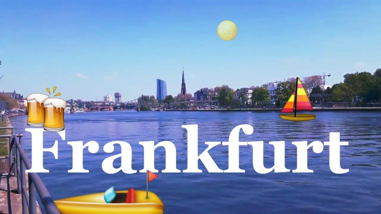 Германия Франкфурт на Майне Germany Frankfurt am Main