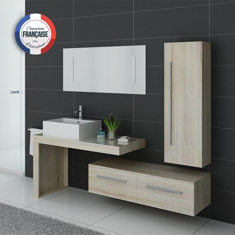 Meubles salle de bain DIS9250SC scandinave SALLE DE BAIN