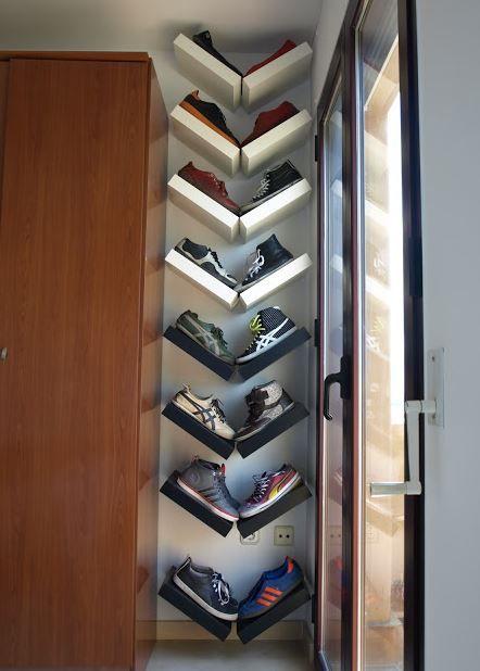 10 id es de rangements chaussures r cup faire soi m me 16pommes pinterest bedroom. Black Bedroom Furniture Sets. Home Design Ideas