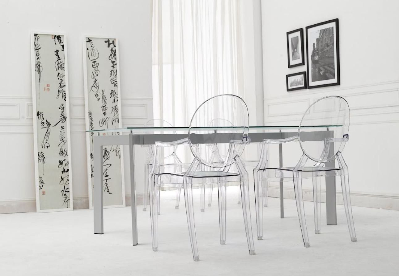 2018 Clear Plastic Dining Table And Chairs   Modern Furniture Cheap Check  More At Http:
