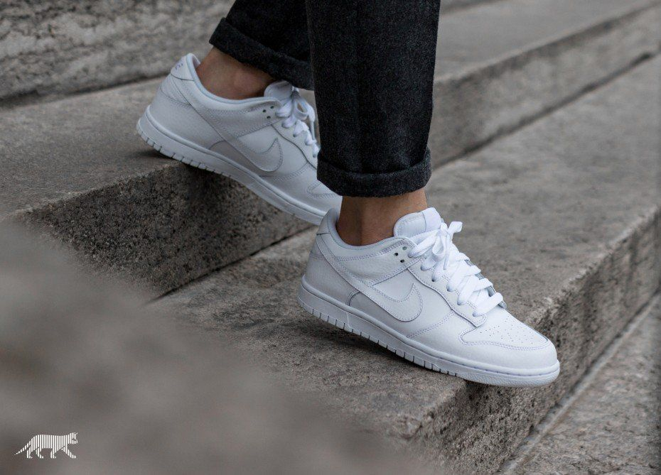 huge discount 8124b f5568 Nike Dunk Low (White  White - White)