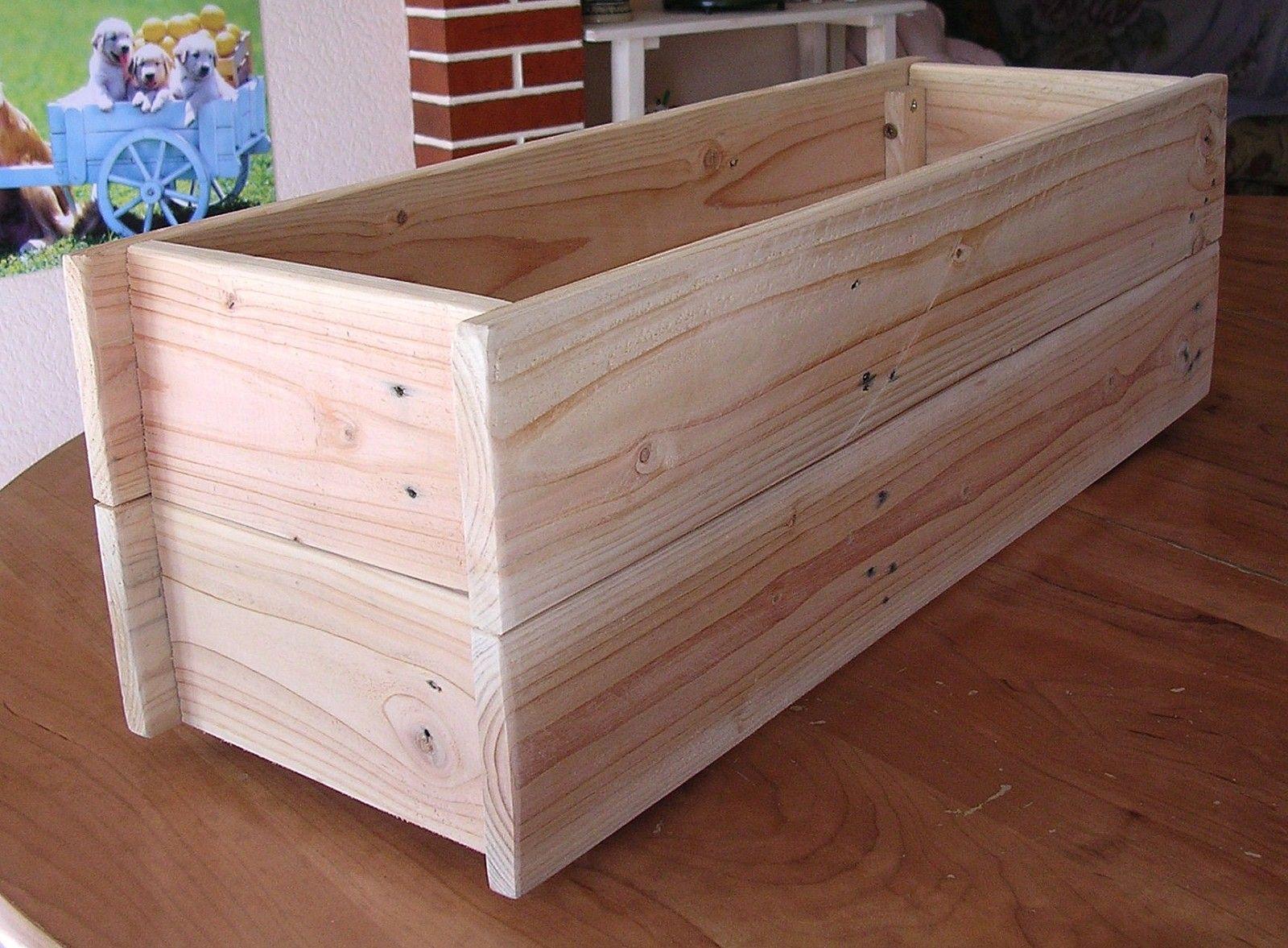 fabrication d 39 une jardini re avec une palette en bois article am nagement. Black Bedroom Furniture Sets. Home Design Ideas