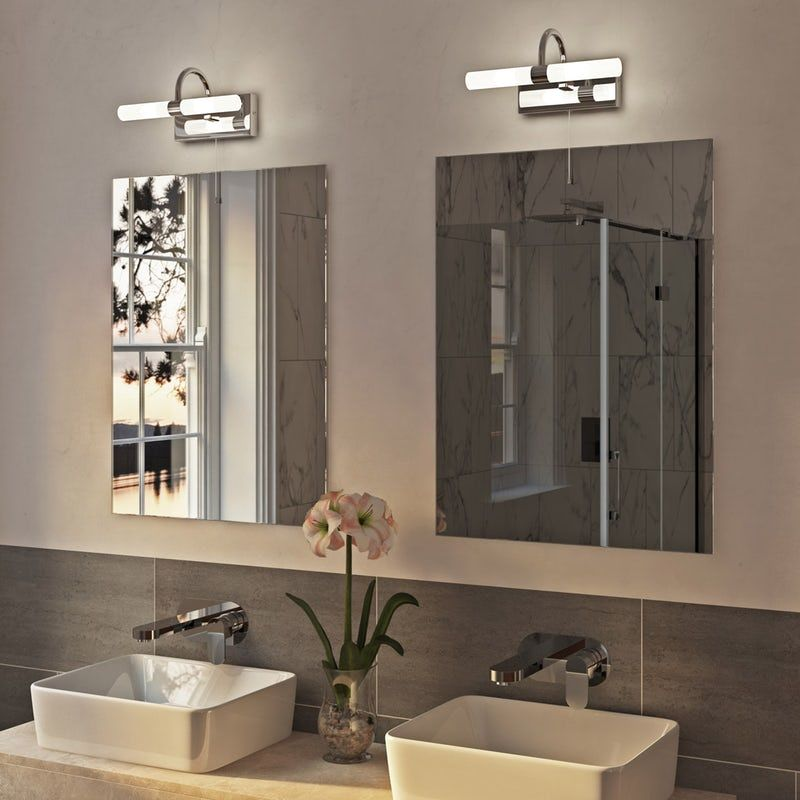 Forum Lys over mirror bathroom light in 2020 | Bathroom ...