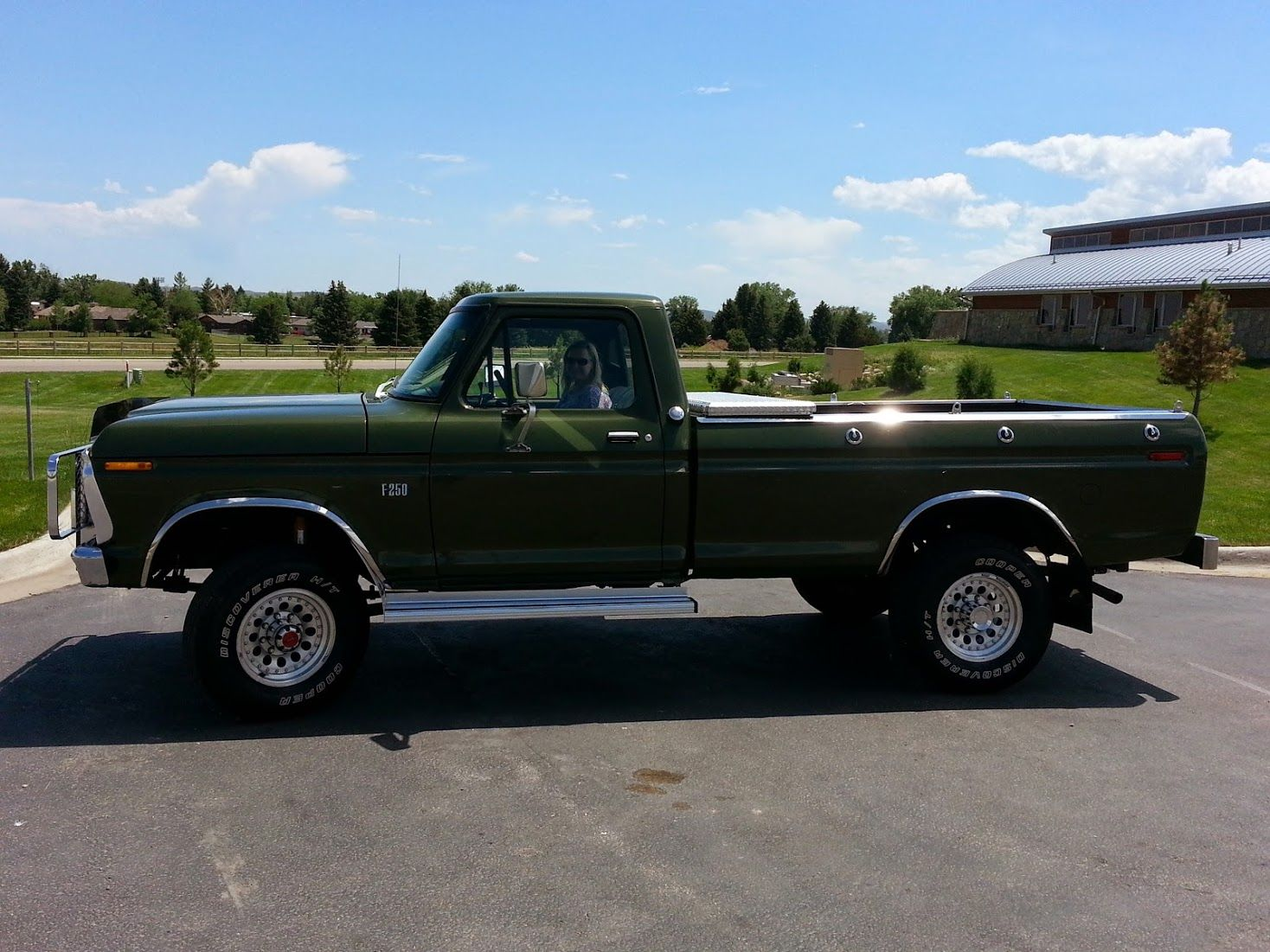 This is ogre my 76 ford f250 4x4 truck has been restored from the