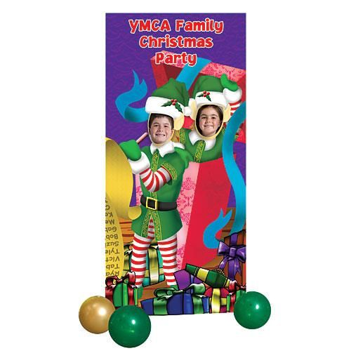 Elves Photo Stand In - Stumps Christmas Party Ideas Pinterest