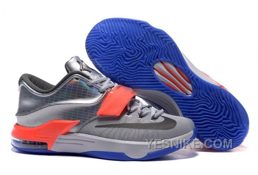 Big Discount  66 OFF Nike KD 7 AllStar Pure Platinum MultiColorBlack 309621