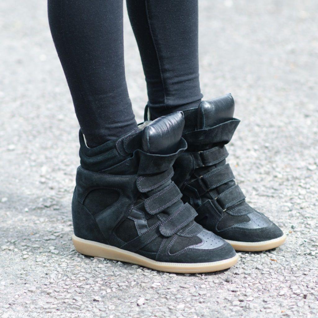 Isabel marant sneakers, Wedge sneakers