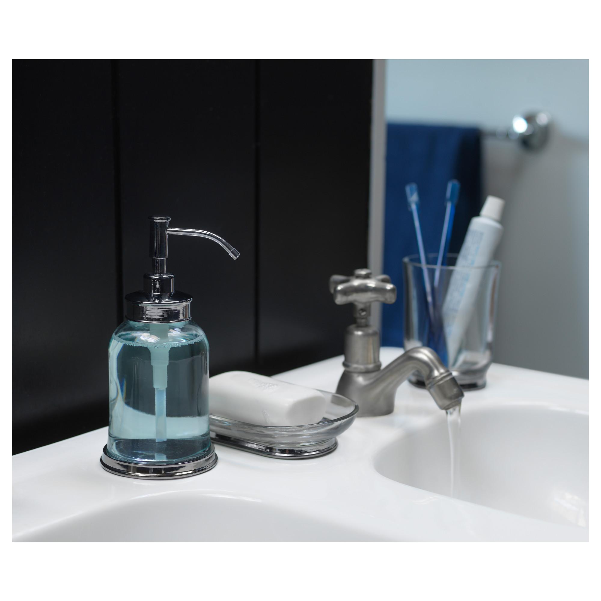 Ikea Balungen Glass Tumbler Soap Dispenser Sink Soap Dispenser Sink Accessories