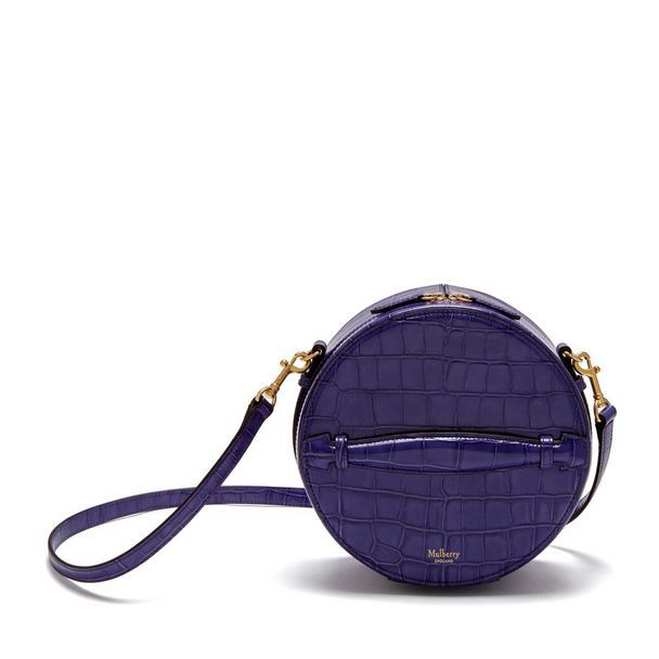 3babd66630e8 Shop the Trunk Bag in Dark Amethyst Croc Print Leather at Mulberry.com. The  trunk bag is the perfect addition to the Trunk family which was unveiled  during ...
