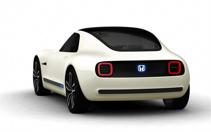 Wallpapers Honda Urban Ev Concept 2017 Exterior 4k Electric Cars New