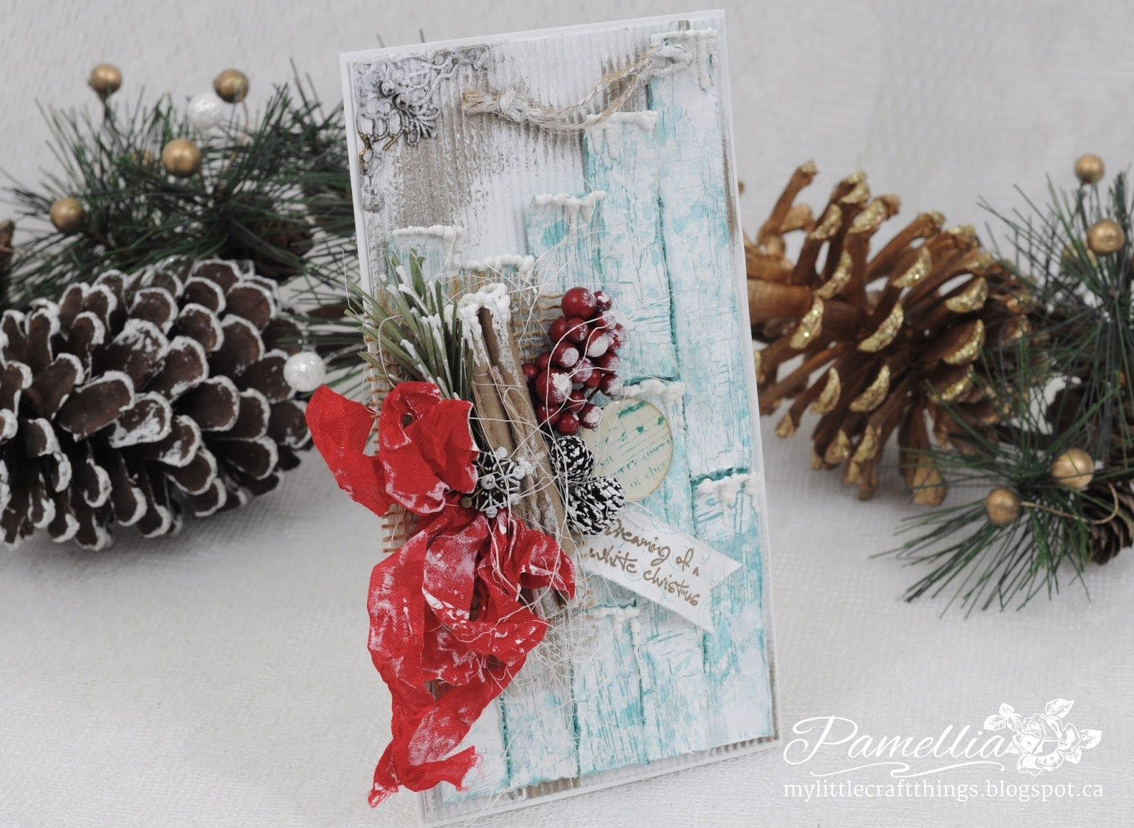 My Little Craft Things: Try it on Tuesday - Christmas is Coming