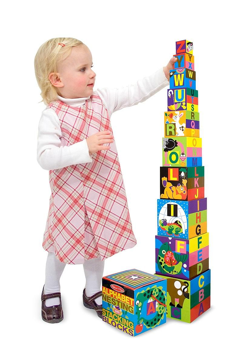 Letters Animals Colors Building Toy For 2 Year Old Boy Girl Toddler Preschool Nesting Stacking Blocks Blocks For Toddlers Melissa And Doug