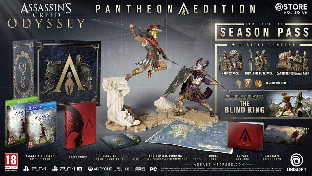 Assassin S Creed Odyssey Has A Ludicrous Amount Of Special Editions Even By Ubisoft Standards Assassins Creed Odyssey Assassins Creed Assassin