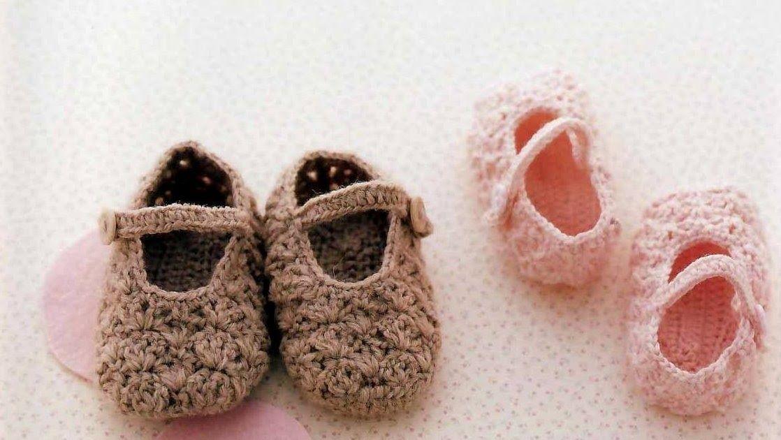 Pin de Maria Hernandez en Crochet | Pinterest | Zapatitos para bebe ...