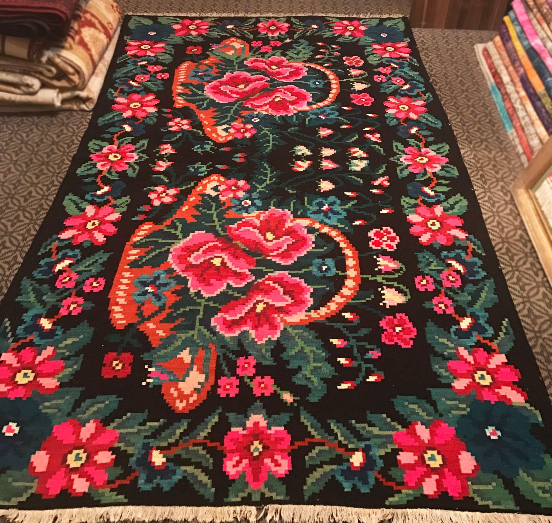 Decorative Area Kilim Carpet