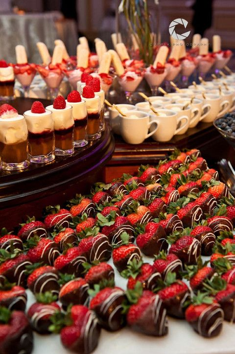Wedding Trend 85 Wedding Mini Desserts Wedding Food Stations
