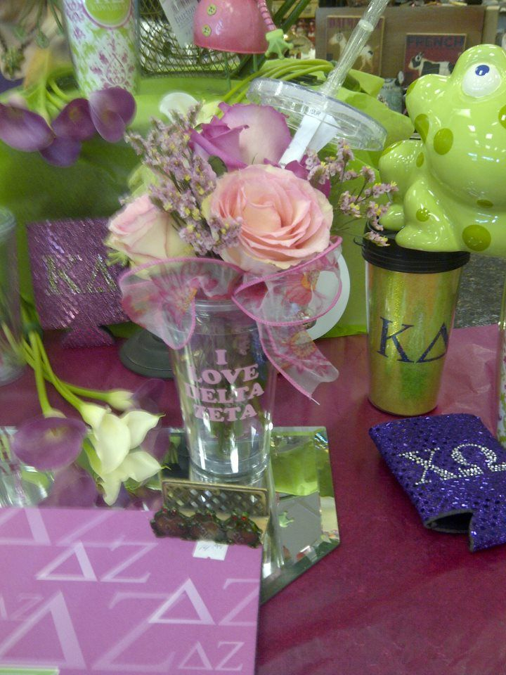LSU Sorority gifts and Arrangements