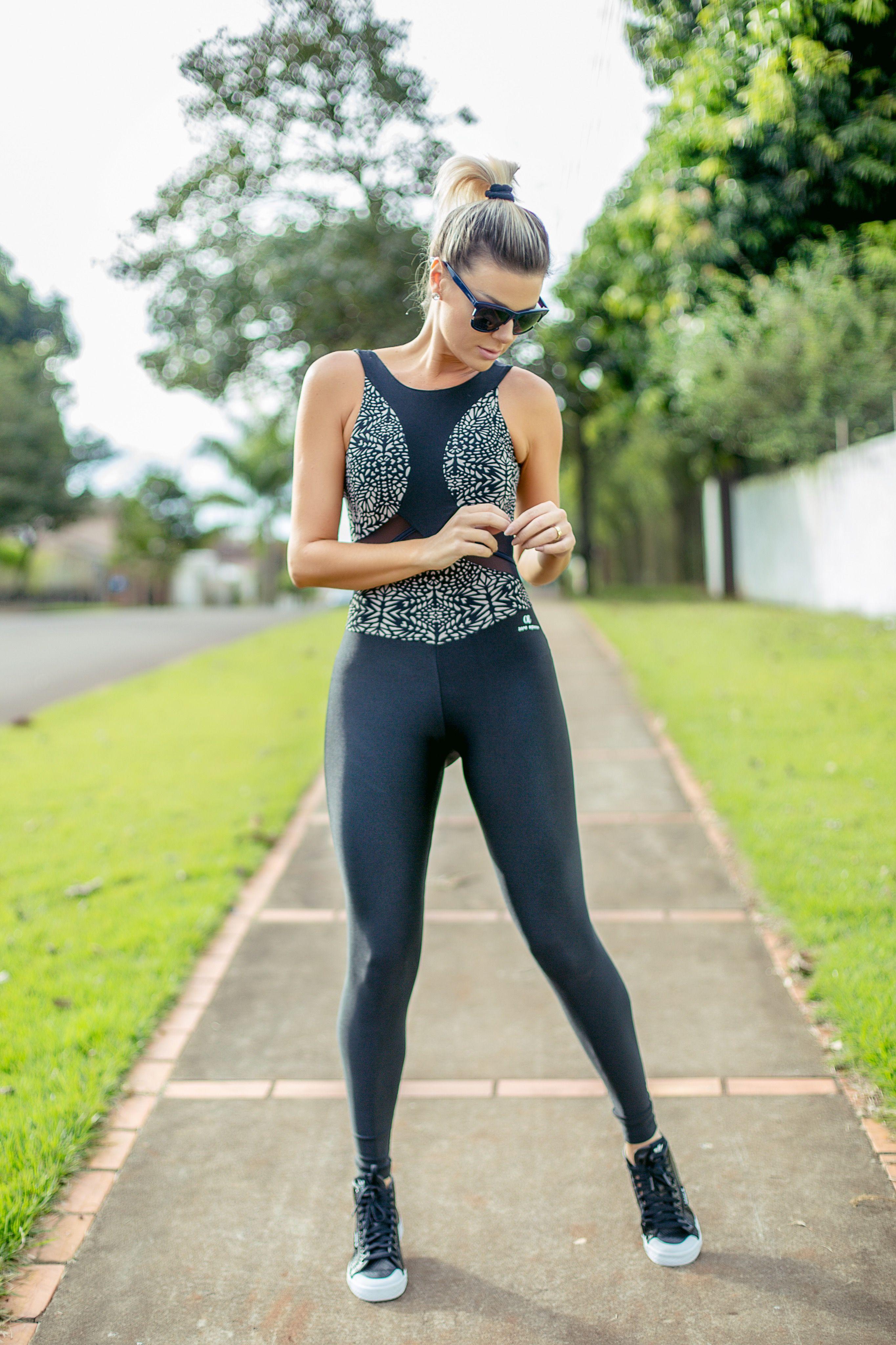 e5517121a ACADEMIA COM ESTILO  Moda Fitness com opções para o treino!