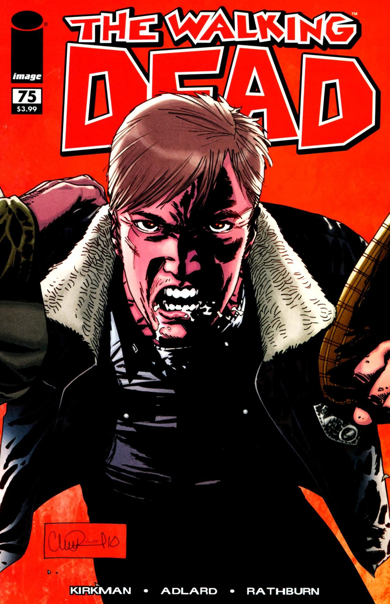 Issue 75 Walking Dead Comic Book Walking Dead Comics The Walking Dead