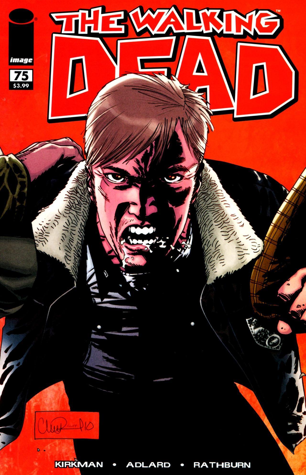 Issue 75 Walking Dead Comic Book Walking Dead Comics The Walking Dead
